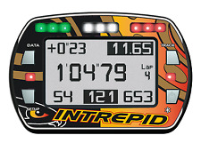Intrepid Estilo Gel Pegatina Para lap timer Alfano PRO III Evo-Karting