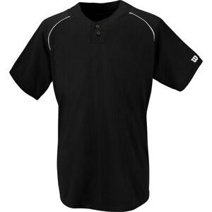 Wilson Men's S201 2-Button Baseball Jersey