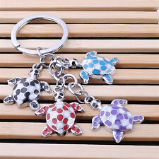 Beautiful Cute Cartoon Turtles Key Chain Key Rings Keyfob Lovely Keyrings Newest