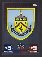 Match Attax 2014/2015 - Club Badge - 37 Burnley
