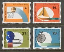 Papua New Guinea 1971 SC 328-331 MH Set South Pacific Games