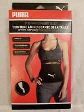 Puma Slimming Waist Belt  Fitness Weight loss Belt Black