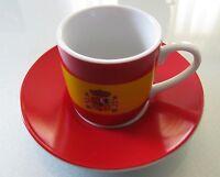 KÖNITZ-Porzellan: Espresso-Tasse mit Untertasse Länderdesign Spanien