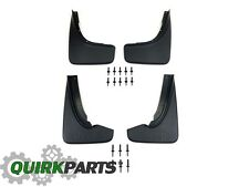 14-18 JEEP GRAND CHEROKEE SUMMIT FRONT AND READ MOLDED SPLASH GUARDS MOPAR