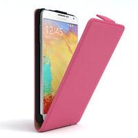 Tasche für Samsung Galaxy Note 3 Neo Flip Case Schutz Hülle Cover Pink