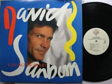 Jazz Lp David Sanborn A Change Of Heart On Warner Bros.