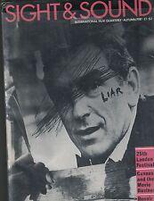 Sight & Sound Magazine Autumn 1981 Mrinal Sen Cannes London 25 Quest for Fire