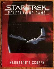 Decipher 902 - Star Trek Roleplaying Game Narrator's Screen *NEW*
