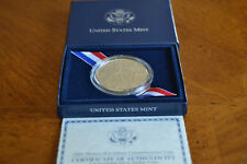 2004 Thomas Alva Edison BU US Mint 90% Silver Dollar UNC Coin in Mint Box w/COA
