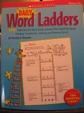 TEACHERS: Daily Word Ladders. (Grades 1-2)