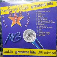 MICHAEL BUBLE KARAOKE CDG DISC SAK SINGER ARTIST SERIES POP CD+G MUSIC CD