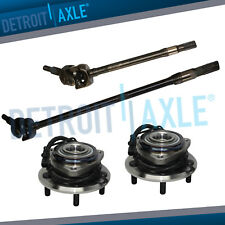 Front Wheel Bearing Pair U-Joint Axle Shafts for 2007-2016 Jeep Wrangler Dana 30