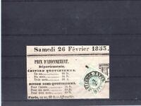 Austria 1853 Mi 1 a newspaper stamp 75.-Eu +
