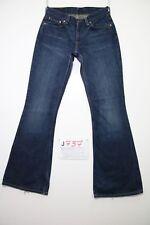 Levis 544 flare bootcut (Cod.J737) Tg.42 W28 L34 jeans usato boyfriend donna