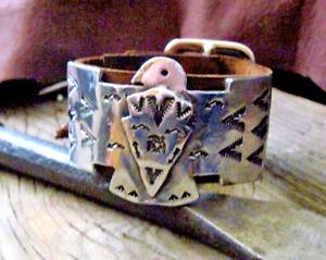Thunderbird Cuff Bracelet Ketoh *  Sundance Leather Artist Women's Size $245
