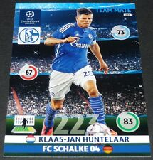 HUNTELAAR NEDERLAND SCHALKE 04 UEFA PANINI FOOTBALL CHAMPIONS LEAGUE 2014 2015