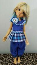Blue 2pc Outfit Msd bjd Kaye Wiggs 18 inch or similar Doll Frost Lowe Meadow