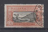 REGNO D'ITALIA 1923 MANZONI 50 CENTESIMI N.154 USATO CENTRATO