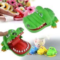 Kinder Lustiges Krokodil Hai Mund Zahnarzt Biss Fingerspiel Spielzeug Geschenk