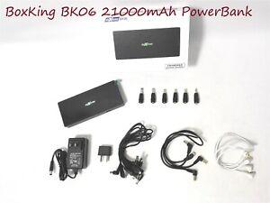BoxKing BK06 21000mAh POWERBANK-Pedal,Pedal Board,Phone,Keyboard+More Instrument