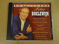 CD / PETER KOELEWIJN - DE BESTE VAN