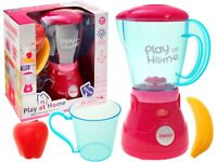 5pc Kids Electric Blender Set Pretend Role Play Light & Sound Gift Toy Battery