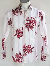 Cotton Regular Collar Floral Casual Shirts & Tops for Men
