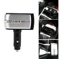 Doppia USB Pieghevole Porta + 2 Presa Auto Dc Accendisigari Potenza Adattatore