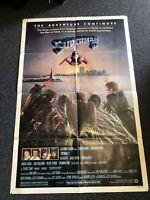 "Vintage Superman II 2 Adventure Continues 1981 Movie Poster Warner Bros 41""x27"""