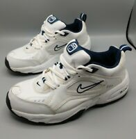 White Size 10 Nike Air Definition 4E Wide Men's Shoes - 308257-141