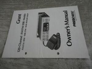 Dépliant CIBI CB GRANT 120 channel AM FM RARE ANCIEN Vintage catalogue notice