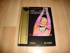 LOS CABALLEROS LAS PREFIEREN RUBIAS PELICULA EN DVD + LIBRO CON MARILYN MONROE