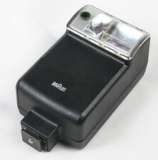 Braun Hobby 280 BC Shoe mount flash unit. Made in Germany