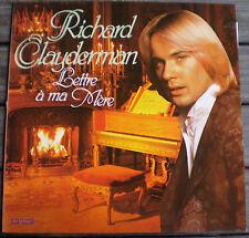 VINYLES 33 T : ** RICHARD CLAYDERMAN  ** LETTRE À MA MÈRE !!