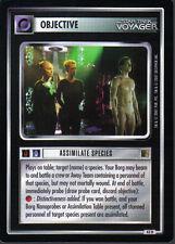 STAR TREK CCG THE BORG RARE CARD ASSIMILATE SPECIES