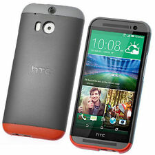 GENUINE HTC One M8 Double Dip Hard Shell Case Cover HC C940 (New 2014 Model)