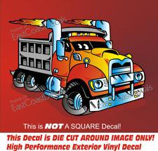 Mack Dump Truck DECAL Ford CUSTOM Sticker Kenworth Pete