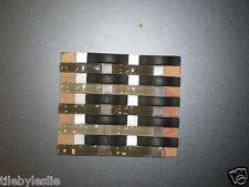 Weave Boutis Black and Taupe Toned Backsplash Glass Tile