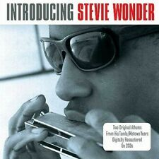 INTRODUCING STEVIE WONDER - TWO TAMLA MOTOWN ALBUMS ON NEW SEALED 2CD