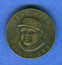 1935 Quaker Oats  BABE RUTH Pin (Boston Braves)
