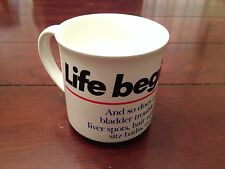 Life Begins At 40 Coffee Cup Mug Tea Getting Old 40Th Birthday Gag Gift Funny
