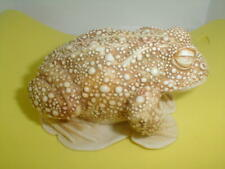 "Large vintage Harmony Kingdom toad Frog Sculpture Box 4"" estate art No Reserves"