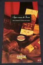 MARCH 12, 1996 - MONTREAL FORUM - SUPER AUCTION - FRENCH / ENGLISH - CATALOGUE