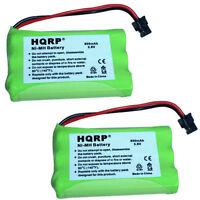 2x HQRP Batterie Téléphone sans Fil pour or Peak GP60AAAH3BMS de Rechange