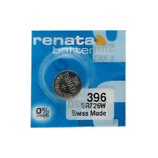 30-Pack 395 / SR57 Renata Silver Oxide Button Batteries