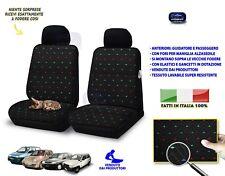 Fiat Cinquecento Fodere Copri sedile sedili foderine per auto cotone Jacquard 2