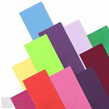 More details for tissue paper sheets acid free plain coloured gift wrapping 50 x 75cm - multibuy