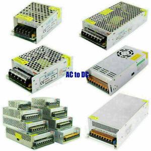 AC 110V-240V TO DC 12V 5A/30A/40A/50A/58A/83A Transformer Regulated Power Supply