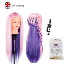 """Neverland Beauty 24"""" Hair Mannequin Training Head Styling Cut Hairdressing Doll"""