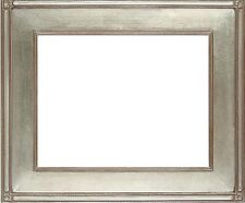 "20 x 24  Plein air Picture Frame Hand Applied Silver Leaf   ""Super Quality """